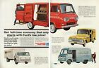 1962 Ford Econoline P-Series Delivery Truck~Van art Ad Vintage Advertising MMXQ
