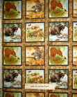 Wildlife Animals Fabric ~ 100% Cotton By The Panel ~ #23262 SPX Wee Wild Life