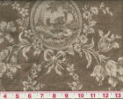 Beautiful Toile Waverly Drapery Upholstery Fabric Country House in CL Linen