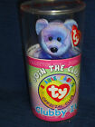 TY BEANIE BABY ~ OFFICIAL CLUB COLLECTOR KIT ~ CLUBBY IV BEAR ~ NEW IN CANISTER