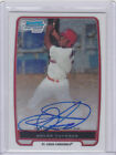 2012 BOWMAN CHROME #BP102 OSCAR TAVERAS AUTO RC AUTOGRAPH ST. LOUIS CARDINALS