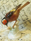 Unterweissbach Porcelain Bird Figurine Germany 4 3/4