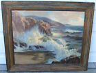 Joseph Lindahl Oil Painting Impressionist Plein Air Listed California Seascape