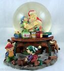 Christmas Musical Snow Globe Dome with Motion Santa Claus Is Coming To Town