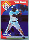 1995 Starting Lineup Cliff Floyd Expos Baseball Card