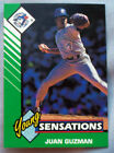 1993 Starting Lineup Young Sensations Juan Guzman Blue Jays Baseball Card