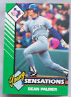 1993 Starting Lineup Young Sensations Dean Palmer Texas Rangers Baseball Card