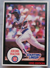 1990 Starting Lineup Jerome Walton Cubs Baseball Card