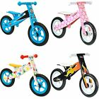 boppi Childrens Wooden Balance Training Bike Bikes Boys Girls Kids 2 3 4 5 Years