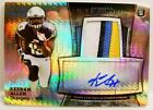 KEENAN ALLEN AUTO AUTOGRAPH RELIC REFRACTOR RC TOPPS BOWMAN STERLING 2013
