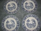 LOT OF 4 Homer Laughlin Stratwood Collection Shakespeare Country Dinner Plates