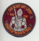 2010 Knights of the Round Table Cub Scout Day Camp patch
