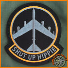 NEW Shut Up Hippie B-52 Stratofortress Morale Patch, Harley Colors Barksdale AFB