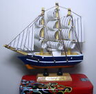3x Antique 17th Century Wooden Folk Art Handbuilt Model Ship Sailing Vessel Toy