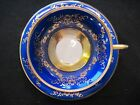 Eschenbach Bavaria Germany Cup and Saucer Royal Blue and Gold Beautiful!!!