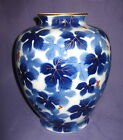 Great Antique IMARI FUKAGAWA Japanese Porcelain Vase HAND PAINTED Circa 1910