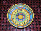 Gorgeous handpainted Deruta Geometric serving bowl--New
