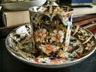 Antique English Derby Late 18th Century Coffee Can Imari Pattern,
