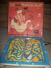 VINTAGE MICKEY MOUSE ELECTRIC TREASURE HUNT GAME TUDOR TIN BOARD WORKS