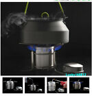 Outdoor Camping Hiking Picnic Cooking Stainless Steel Alcohol Stove Cookware