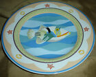 Sakura CORAL REEF Claire Murray White FISH Fishes Beach House DESSERT Plate