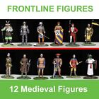 12 Medieval Metal 54mm Toy Soldier by Frontline Figures