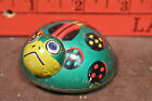 Vintage Tin Litho Friction Lady Bug