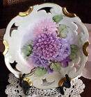 Antique Hand Painted Crysthanthemums by C. Durflinger.  BAVARIAN PORCELAIN BOWL