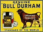 Bull Durham sign smoking tobacco 81 2 x 11 from 1910