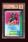 1 1 BGS 9.5 RUSSELL WILSON 2012 TOPPS FINEST RED REFRACTOR AUTO JERSEY # 3 15