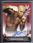 Georges St Pierre 2010 Leaf Red Autograph Auto Former UFC Welterweight Champ P4P