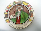 ROYAL DOULTON PORTRAIT PLATE THE SQUIRE D6284 SERIESWARE Art  Deco PROFESSIONALS