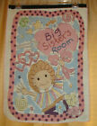 Adorable BIG SISTER'S Room Heart Stars Girl TAPESTRY Wall Hanging
