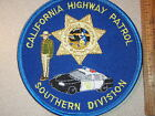 CALIFORNIA HIGHWAY PATROL SOUTHERN    DIVISION CHIPS PATCH CALIF