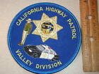 CALIFORNIA HIGHWAY PATROL VALLEY   DIVISION CHIPS PATCH CALIFORNIA STATE POLI
