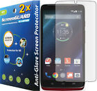 2x Anti Glare Matte LCD Screen Protector Guard Cover Motorola Droid Turbo XT1254