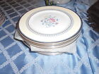 Royal Doulton Canterbury Accent Salad Dessert China Dishes Plates H5281 SET 12
