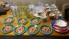 Coca Cola coffee mugs drinking glasses plates and bowls mostly Gibson