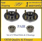 2000 2005 TOYOTA ECHO Front Wheel Hub  Bearing Kit PAIR