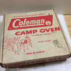 OLD vtg Coleman Oven 5010A700 Cooking Oven Original Box Portable Folding Camping
