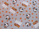 Hello Kitty KISS ROCK BAND Rocker Groupie on 100% COTTON FABRIC Sold By the Yard