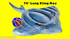 Sting Ray Inflatable Ride On Pool Beach Lake Float Toy Intex Swim Fun raft blow