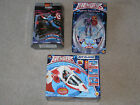 AVENGERS UNITED THEY STAND KANG ACTION FIGURE AND AIR GLIDER VEHICLE + CAP MODEL