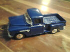 1955 Blue Chevy Stepside SS 5602 1:36 Scale Good Condition! Used.
