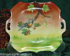 Beautiful Hand Painted Plate with Blue Bird made in Germany VG