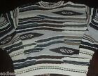 Mens Bachrach Sweater XL Ugly Christmas Bill Cosby Notorious Big crazy tacky