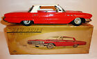 NOMURA Japanese Tin Litho Friction 1961 BUICK LeSABRE 4-Dr HARDTOP w/ BOX ~ 16