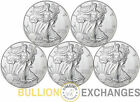 Lot of 5 2014 American Eagle 1 oz Coin 999 Fine Silver One Dollar Coin