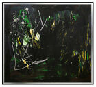 Ann Purcell Original Painting Authentic Large Oil on Canvas Signed Art Abstract