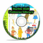 1000+ Patterns Make Your Own Barbie Doll Clothes Classic Vintage Designs CD B71